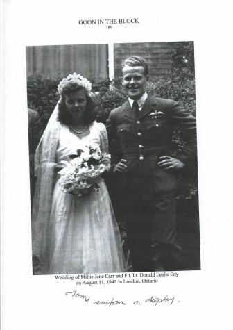 The jacket at Don Edy's wedding in 1945 001