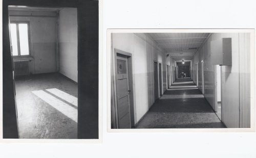 Dulag Luft Keeffe' Solidary cell and hallway