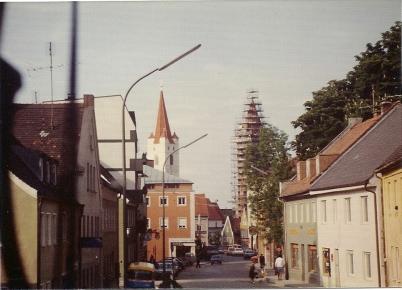 Moosburg chuch repair 1970