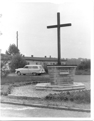 Stalag VII A block and monument-1