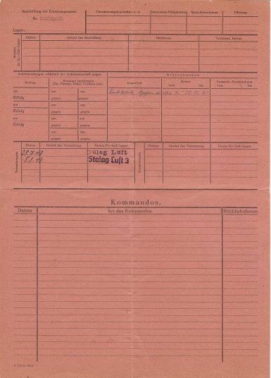 Aubrey M  Bobbitt Luft III ID Card Reverse