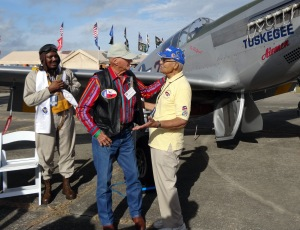 Gideon and Tuskegee Airman 2015
