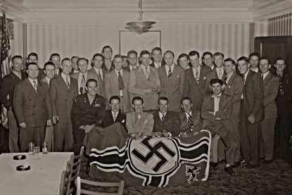 Moosburg nazi flag reunion 1946 (2)