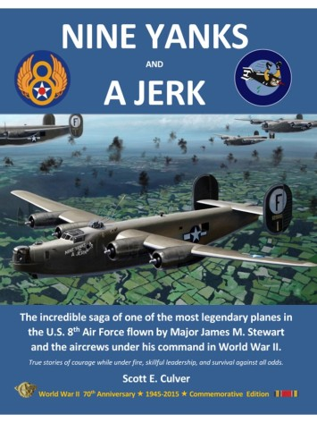 Nine Yanks and a Jerk jpg front cover