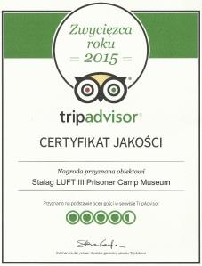 TripAdvisor certyf