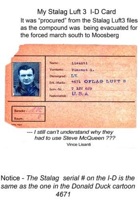 Vince's POW ID Card