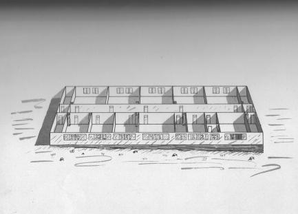 South Compound barracks diagram