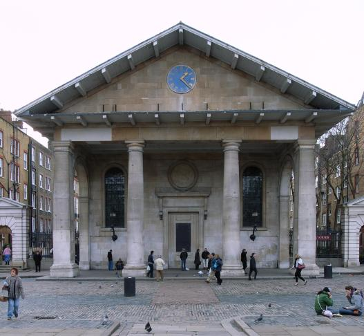 St Paul, Covent Garden (1631-8) by Inigo Jones