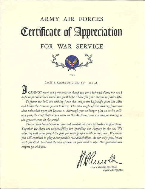 army-air-forces-cert-of-appreciation